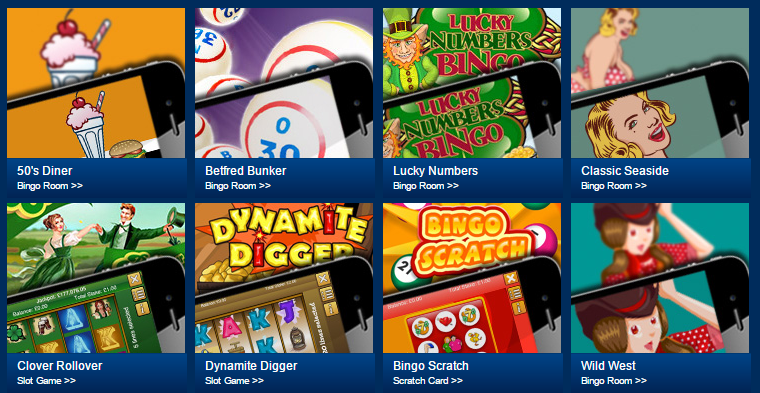 Betfred bingo mobile