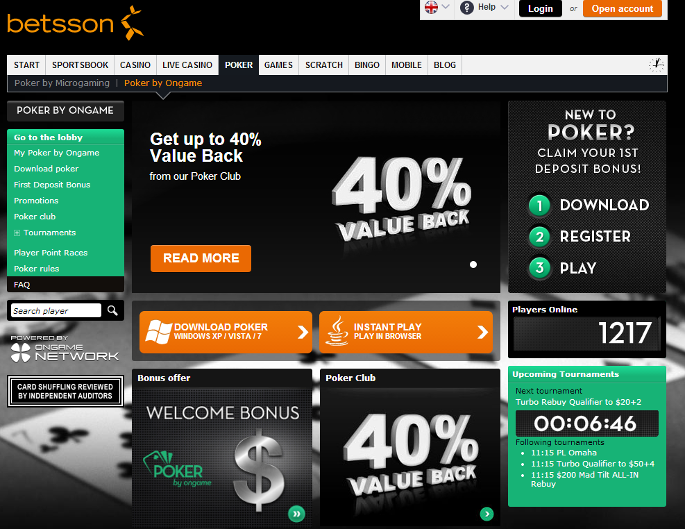Betsson casino bonus code 2013 middleborough casino