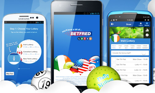 betfred mobile lotto