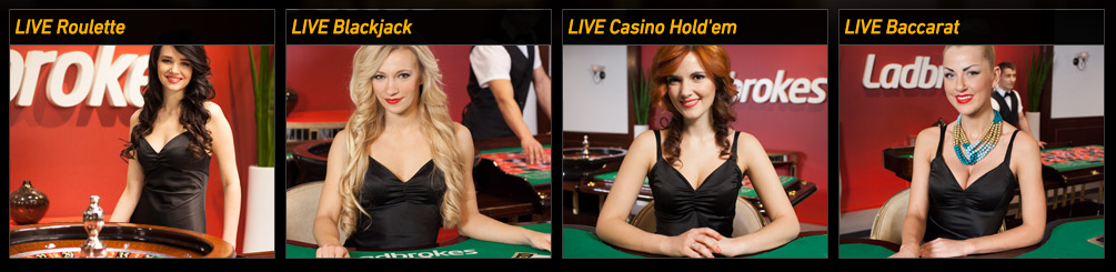 Here are the Live Casino dealers