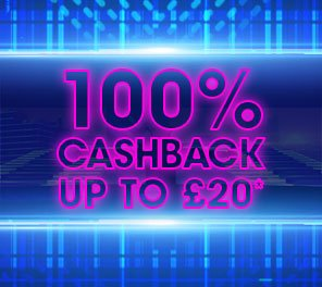William Hill Vegas 100% cashback