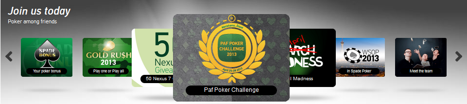 Paf poker an online gaming platform