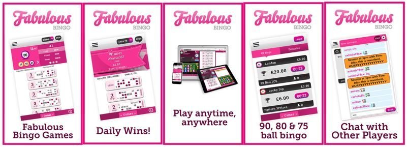 Fabulous Bingo apps