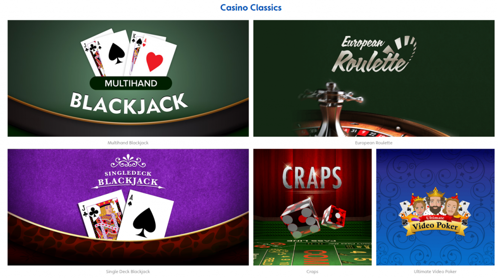 Jackpotjoy casino games