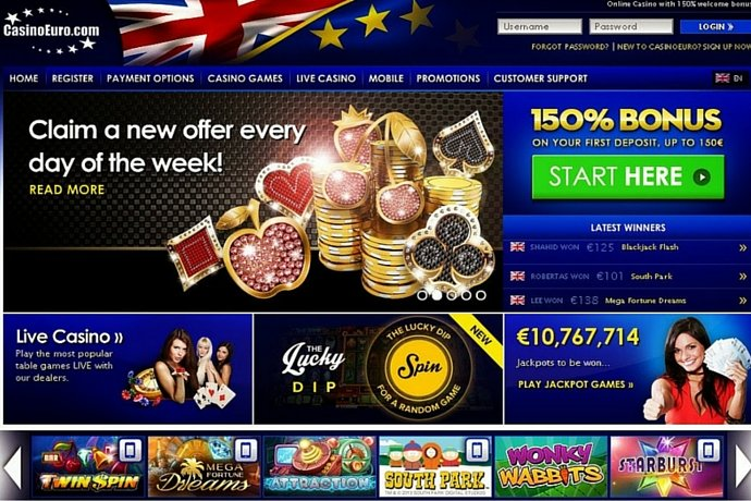 casinoeuro bonus 2017
