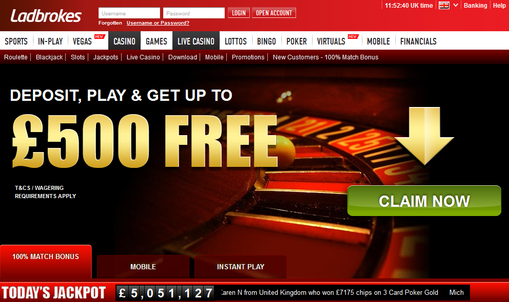 promotion code for ladbrokes casino