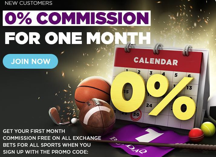 Get 0% commission for 1 month if you sign up today!