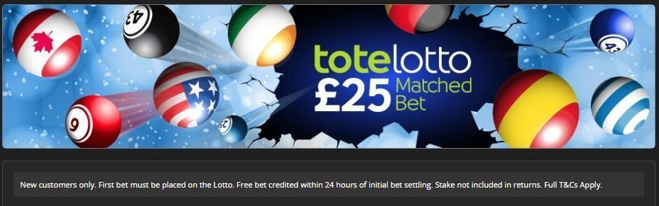 Totesport lotto offer