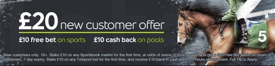 Totesport new customer offer