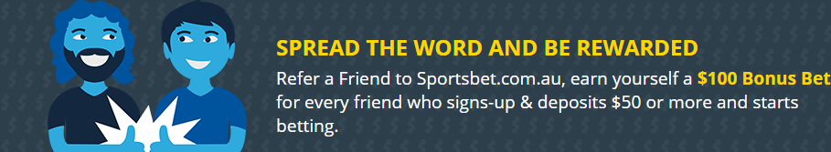 sportsbet refer a friend