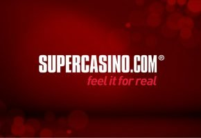 Enter SUPBONUS: 2016 promo code for SuperCasino