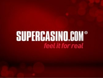 Enter SUPBONUS: 2018 promo code for SuperCasino