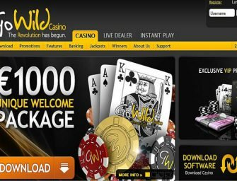 Go Wild Casino Promo Code – Attractive bonus package
