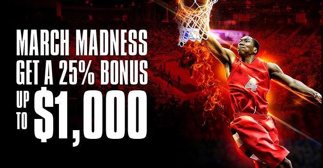 Limited time offers: March Madness bonus!