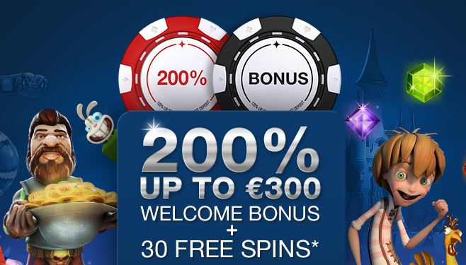 Here is the 200% bonus promotional image