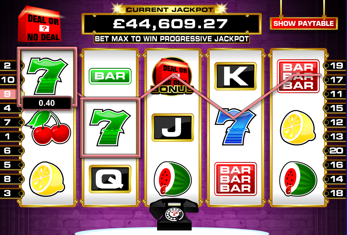 "The DOND Slot as offered by JackpotJoy (also refered to as the ""Millionaire Maker"")"