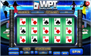 screenshot of wpt slots