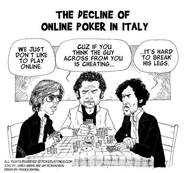 online poker in italy