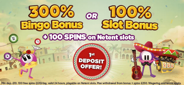 Lucky Pants bingo first deposit bonuses