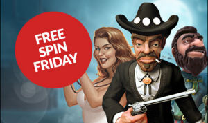 Free Spin friday logo