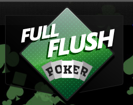 FullFlush Poker Logo
