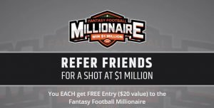 win one million with the refer a friend bonus