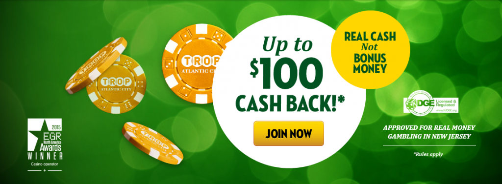 Tropicana casino bonus