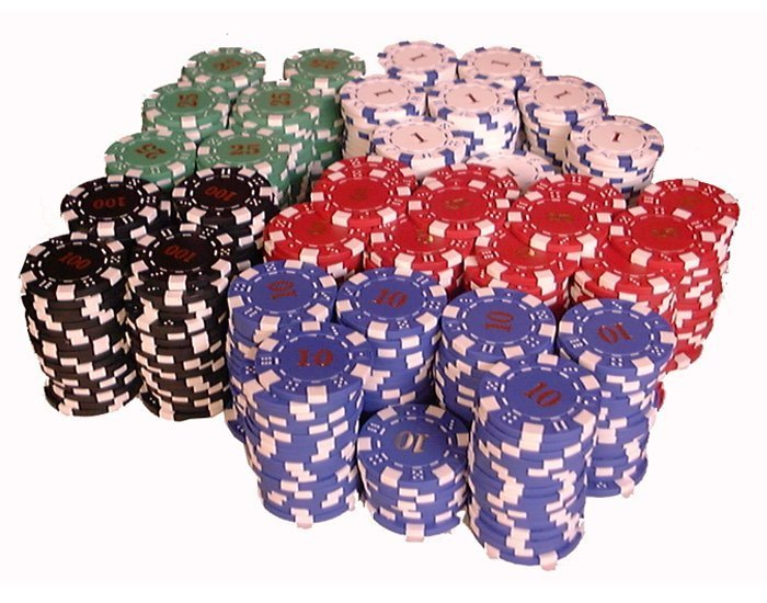 Asstd Poker chips