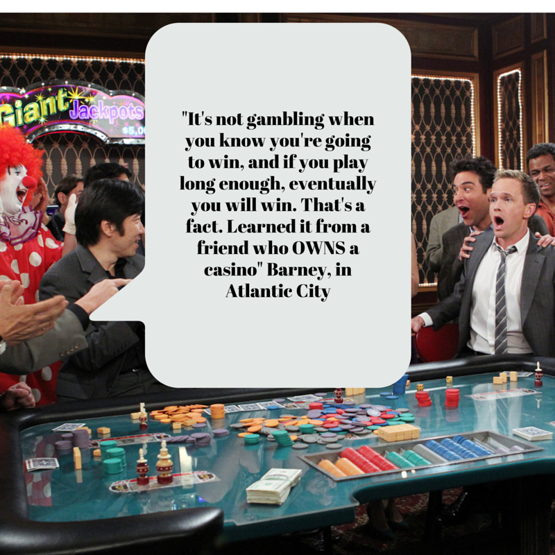 how i met your mother casino game