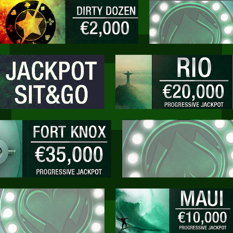 Jackpot Tournament Design