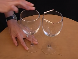 Wine glass bet