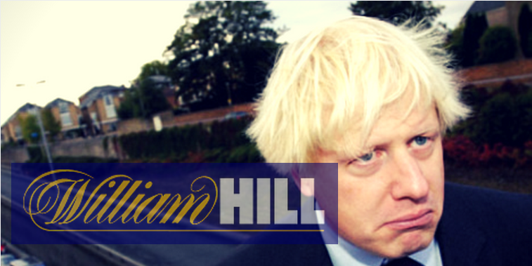 William Hill Boris Johnson