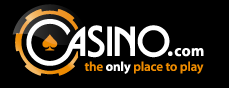 Here is the Casino.com logo
