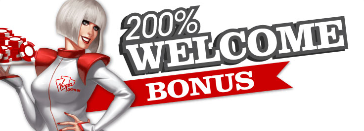 Here is the 200% Welcome Bonus promotional image