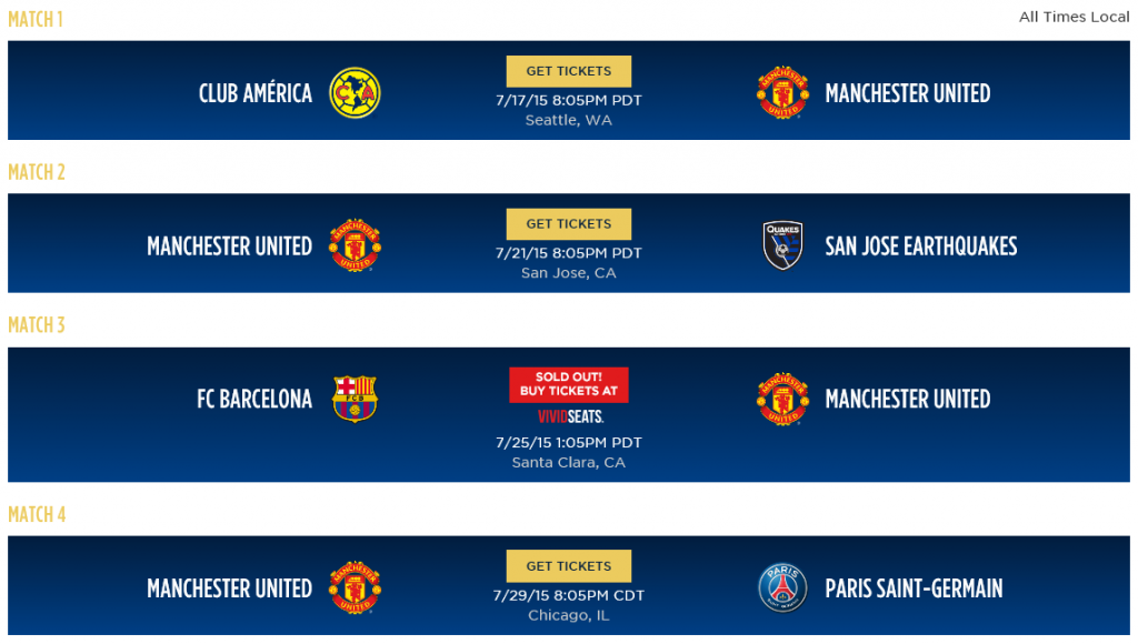 Here is a picture of Man U's ICC fixtures