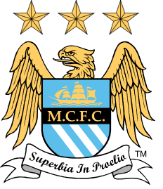 Here is the Man City logo