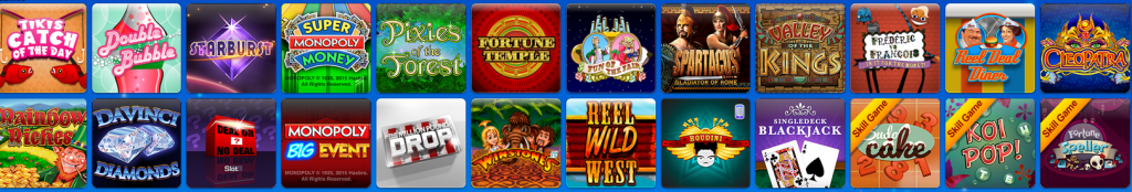 Video poker, casino games and more