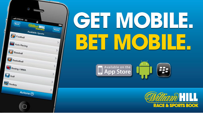Here is the William Hill mobile promo image