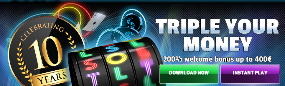 slotsheaven welcome bonus triple your money
