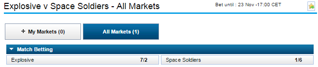 Wh Betting Odds - image 6