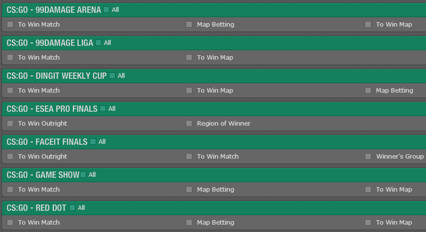 bet365rangeofmarkets