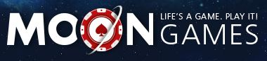 Here is the MoonGames logo