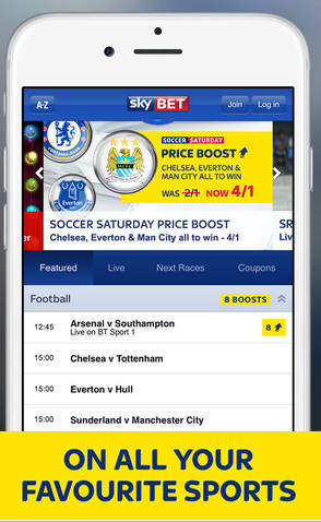 sky bet mobile login