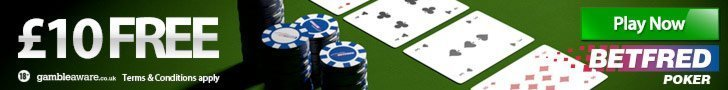 betfred poker offer