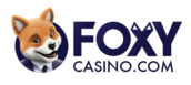 screenshot of foxy casino logo