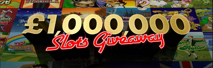 £1M slots giveaway
