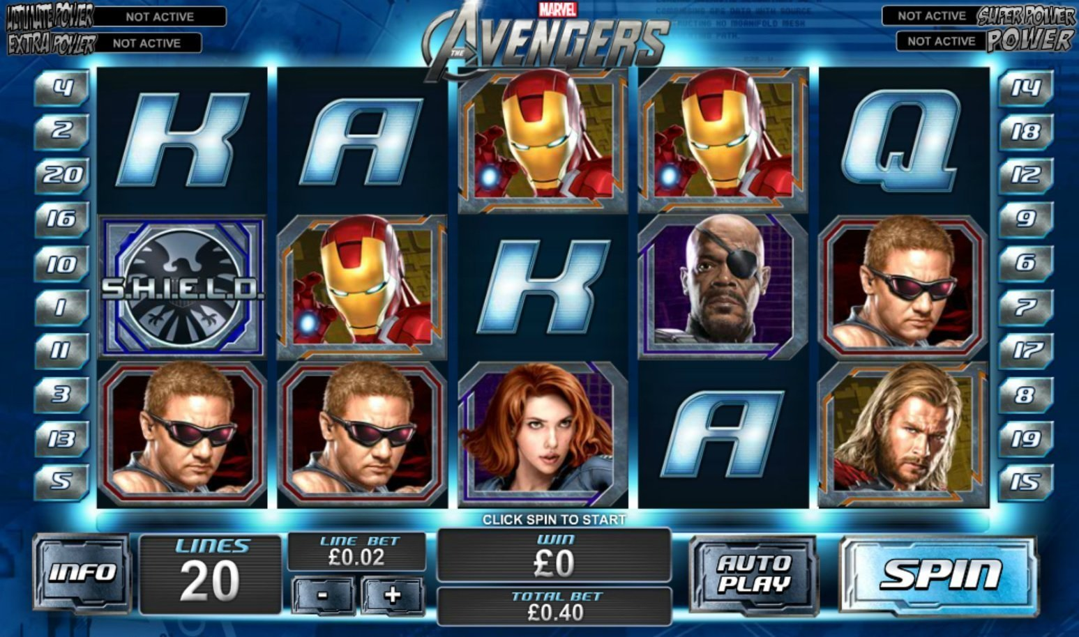 Top Marvel Themed Slot Machines 2