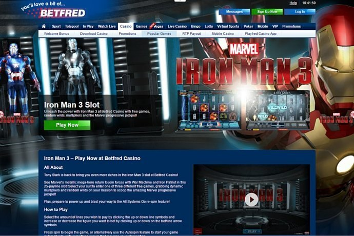 Slot Machine Gratis Marvel