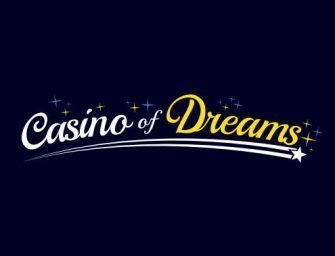 First deposit bonus with Casino of Dreams voucher code