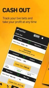 Betfair mobile app 1